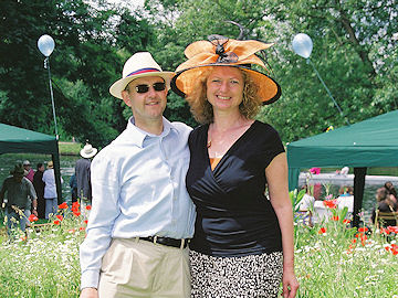 Hosts in hats