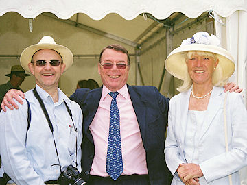 Andrew with David Dutton and his partner, Mave