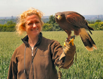 Helen and the hawk