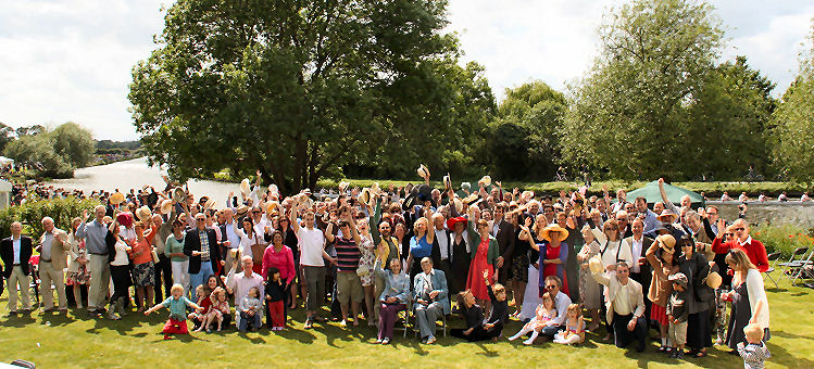 Group Photo Bumps Party 2012