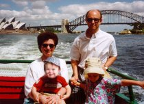 Sydney harbour boat ride