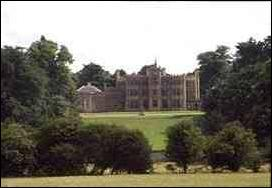 Rousham House seen from the road